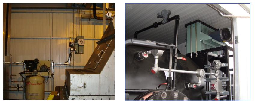 Установка нагревателя FE2 на объектах обогрева буровой