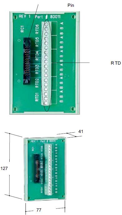 RTB6 Модуль подключения RDT