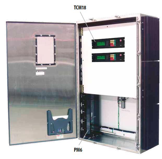Типововая комплектация системы Thermon TraceNet TCM18